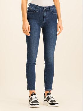 Calvin Klein Calvin Klein Jeansy Slim Fit Blue Skinny Ankle Jean K20K201702 Granatowy Slim Fit