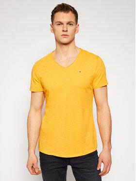 Tommy Jeans Tommy Jeans T-Shirt Jaspe DM0DM09587 Žlutá Slim Fit