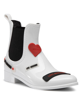 LOVE MOSCHINO LOVE MOSCHINO Gummistiefel JA21043G1BIR1100 Weiß