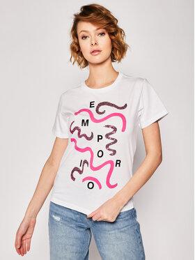 Emporio Armani Emporio Armani T-shirt 3H2T7I 2J95Z 0100 Bianco Regular Fit