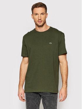 Lacoste Lacoste T-shirt TH2038 Vert Regular Fit