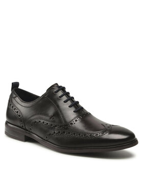 Clarks Clarks Chaussures basses Stanford Brogue 261611687 Marron
