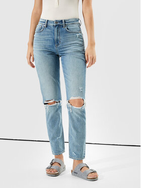 American Eagle American Eagle Jeansy 043-0436-3065 Niebieski Relaxed Fit