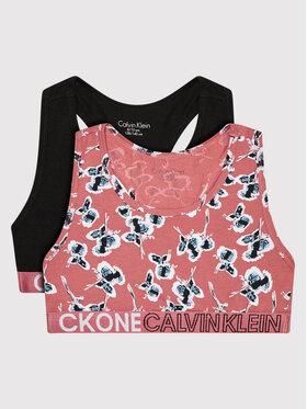 Calvin Klein Underwear Calvin Klein Underwear Komplektas: 2 sportinės liemenėlės Bralette G80G800476 Spalvota