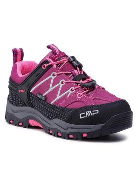 CMP CMP Trekkingi Kids Rigel Mid Trekking Shoe Wp 3Q13244 Różowy
