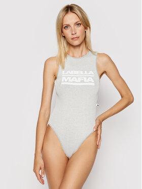 LaBellaMafia LaBellaMafia Body 20179 Grau Slim Fit