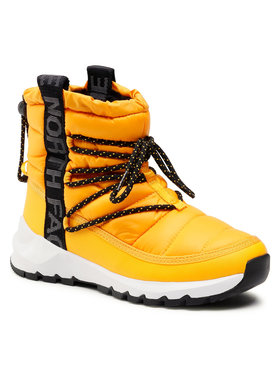 The North Face The North Face Śniegowce Thermoball Lace Up NF0A4AZGZU31 Żółty