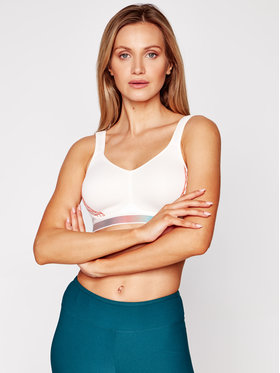 Triumph Triumph Reggiseno top Triaction Cardio Cloud 10205923 Bianco