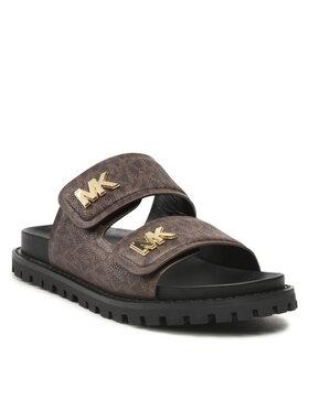 MICHAEL Michael Kors MICHAEL Michael Kors Mules / sandales de bain Stark Slide 40F1BAFA1B Marron