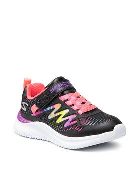 Skechers Skechers Sneakersy Radiant Swirl 302434L/BKMT Czarny