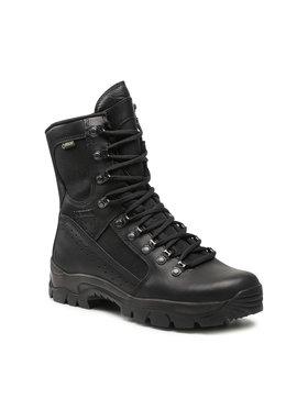 Meindl Meindl Παπούτσια πεζοπορίας Kampfstiefel Leic GORE-TEX 3673 Μαύρο