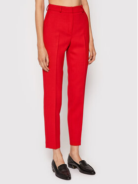 Rage Age Rage Age Stoffhose Piper 2 Rot Slim Fit