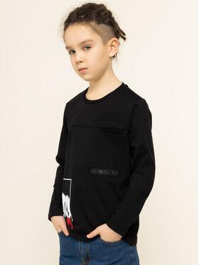 Primigi Primigi Μπλουζάκι Into The Black 44213141 Μαύρο Regular Fit