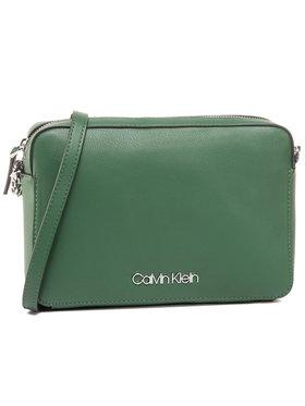 Calvin Klein Calvin Klein Τσάντα Ck Must Ew Crossbody K60K606666 Πράσινο