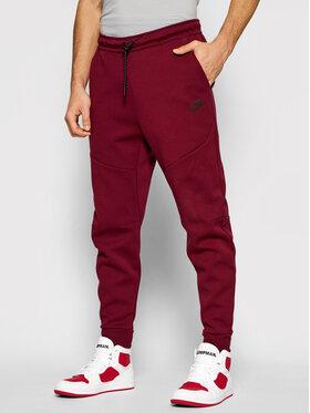 Nike Nike Teplákové nohavice Nsw Tech Fleece CU4495 Bordová Slim Fit