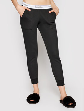 Calvin Klein Underwear Calvin Klein Underwear Teplákové kalhoty 0000QS5716E Černá Regular Fit