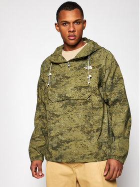 The North Face The North Face Anorák Printed Class V Po NF0A55T702D1 Zöld Regular Fit