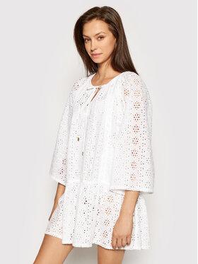 Melissa Odabash Melissa Odabash Sukienka plażowa Corina CR Biały Relaxed Fit