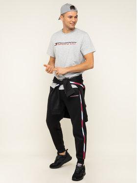 Tommy Sport Tommy Sport Marškinėliai Logo Chest S20S200051 Pilka Regular Fit
