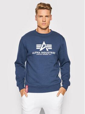 Alpha Industries Alpha Industries Bluza Basic 178302 Granatowy Regular Fit