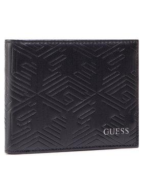 Guess Guess Veľká pánska peňaženka Baldo Slg SMBALD POL38 Čierna