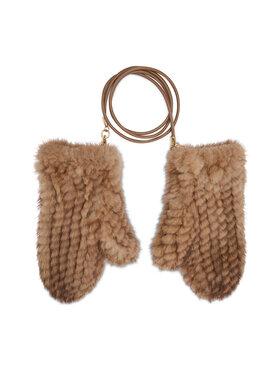 Max Mara Max Mara Дамски ръкавици Nevada 45660513600 Кафяв