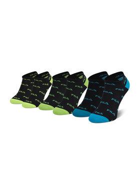 Fila Fila Lot de 3 paires de chaussettes basses homme Calza F2642 Noir