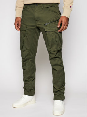 G-Star Raw G-Star Raw Spodnie materiałowe Rovic D02190-5126-6059 Zielony Tapered Fit