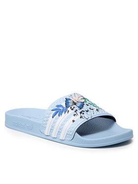 adidas adidas Pantoletten adilette J H03913 Blau