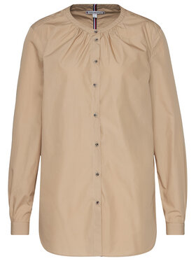 TOMMY HILFIGER TOMMY HILFIGER Marškiniai Essential Lea WW0WW27957 Smėlio Regular Fit