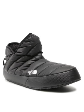 The North Face The North Face Papuci de casă Thermoball Traction Bootie NF0A3MKHKY4 Negru