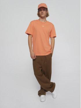 Sprandi Sprandi T-shirt SS21-TSM009 Narančasta Regular Fit