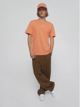 Sprandi Sprandi T-Shirt SS21-TSM009 Pomarańczowy Regular Fit