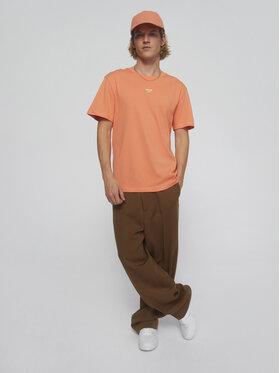 Sprandi Sprandi T-Shirt SS21-TSM009 Πορτοκαλί Regular Fit