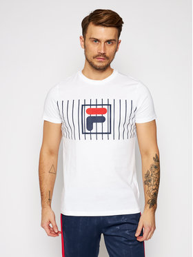 Fila Fila T-shirt Sauts Tee 687989 Bianco Regular Fit