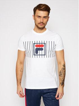 Fila Fila T-shirt Sauts Tee 687989 Blanc Regular Fit