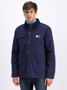 Tommy Jeans Tommy Jeans Дънково яке Workwear DM0DM06918 Тъмносин Regular Fit