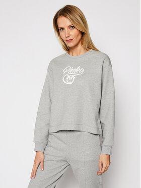 Pinko Pinko Sweatshirt Buffy AI 20-21 PRR 1N12XY Y75F Gris Regular Fit