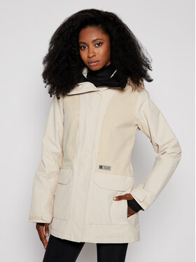 DC DC Veste de ski Panoramic ADJTJ03001 Beige Tailored Fit