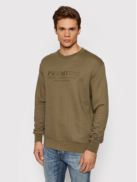 Jack&Jones PREMIUM Jack&Jones PREMIUM Sweatshirt Blu Frank 12193779 Grün Regular Fit