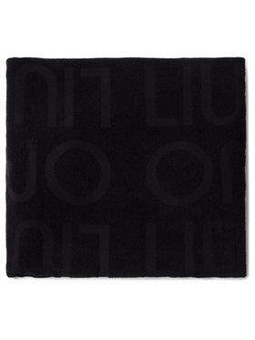 Liu Jo Liu Jo Ręcznik Telo Spugna Jacquar VA0217 T0300 Czarny