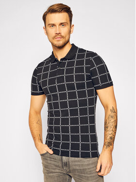 Calvin Klein Jeans Calvin Klein Jeans Pólóing J30J315695 Fekete Slim Fit