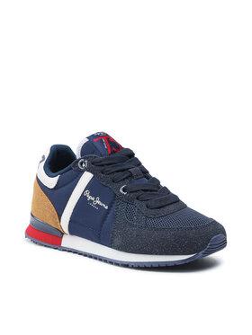 Pepe Jeans Pepe Jeans Sneakers Sydney Combi Boy PBS30506 Bleu marine