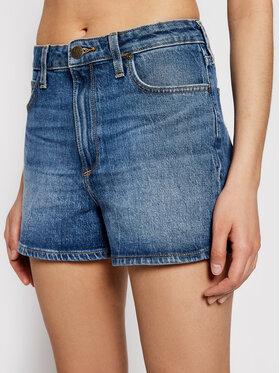 Lee Lee Szorty jeansowe Carol L37CMWMQ Niebieski Regular Fit