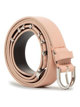 Calvin Klein Calvin Klein Cintura da donna Round Buckle Belt 20MM W Charms K60K607324 Rosa