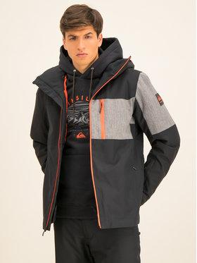 Quiksilver Lyžiarska bunda Mission Plus EQYTJ03215 Čierna Slim Fit