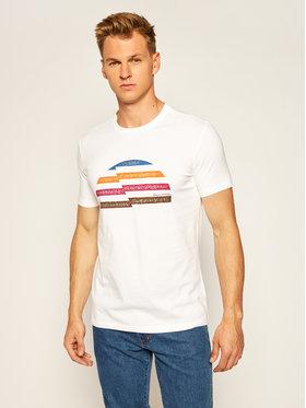 Marc O'Polo Marc O'Polo T-Shirt 026 2016 51144 Biały Shaped Fit