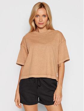 Reebok Reebok T-Shirt Natural Dye H11198 Braun Loose Fit