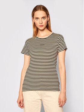 Calvin Klein Calvin Klein T-shirt Logo Stripe Ss K20K202147 Šarena Slim Fit