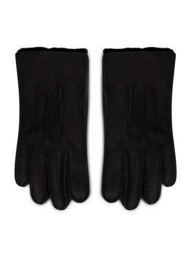 Ugg Ugg Γάντια Ανδρικά M Contrast Sheepskin Tech Glv 18712 Μαύρο